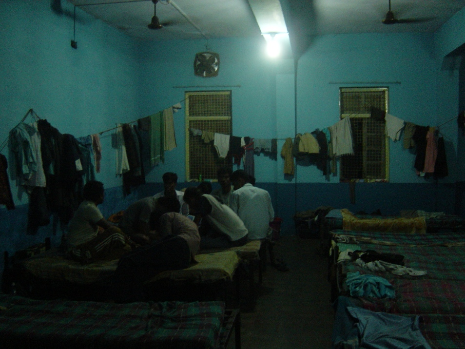 (11 Dec 2009) Seafarers' Hostel, in Mumbai. This is where the Indian 'waiting' takes place for my research participants.