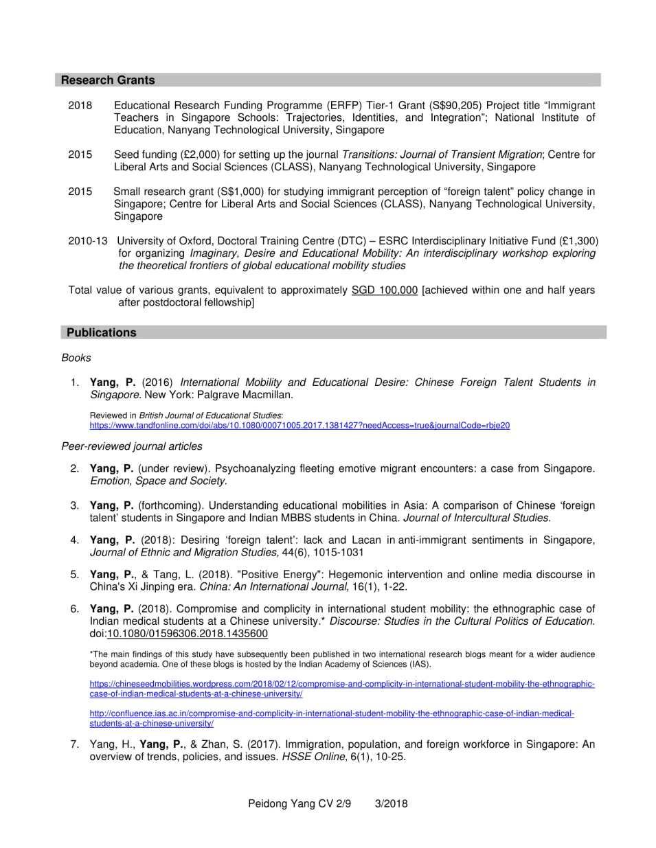 CV YANG Peidong_3.2018-2