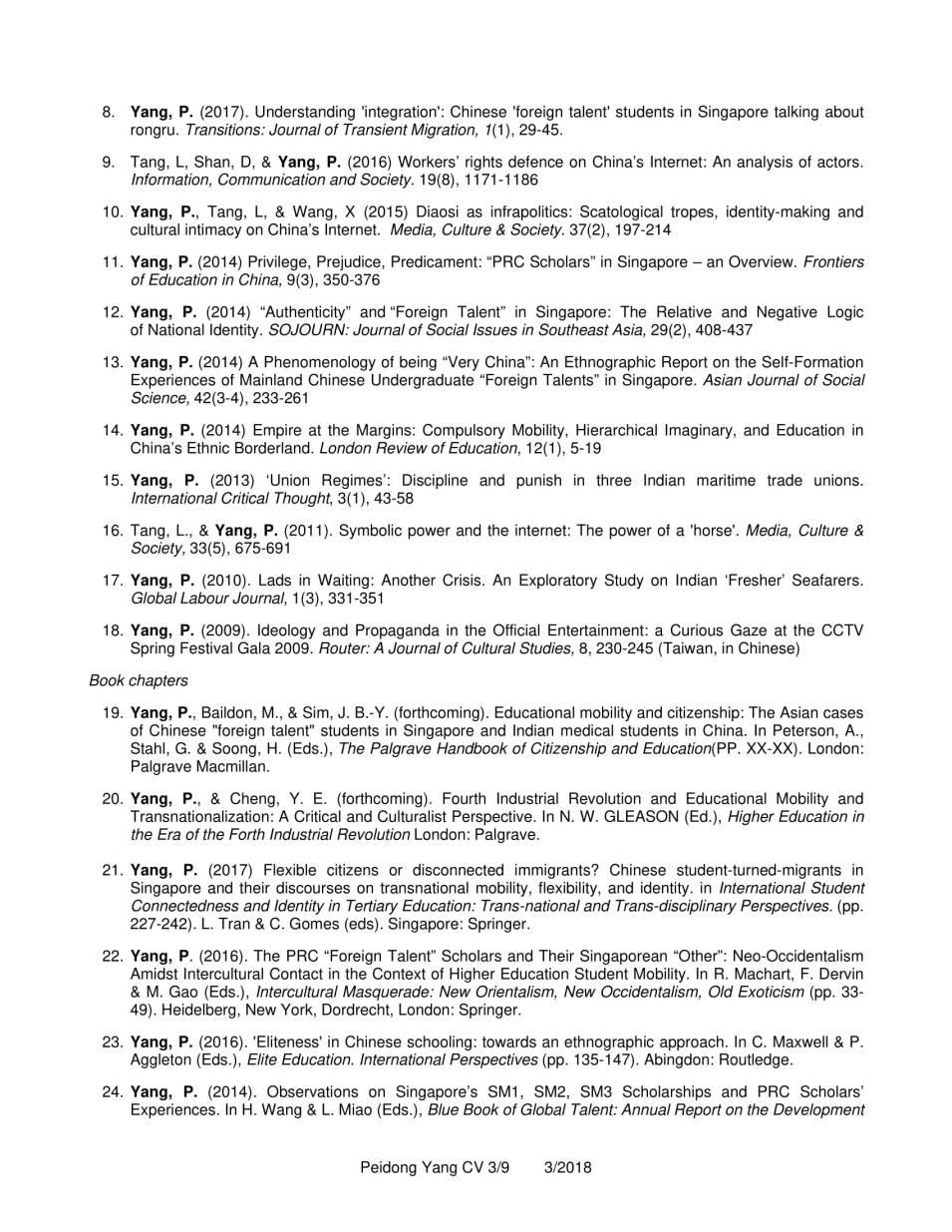 CV YANG Peidong_3.2018-3