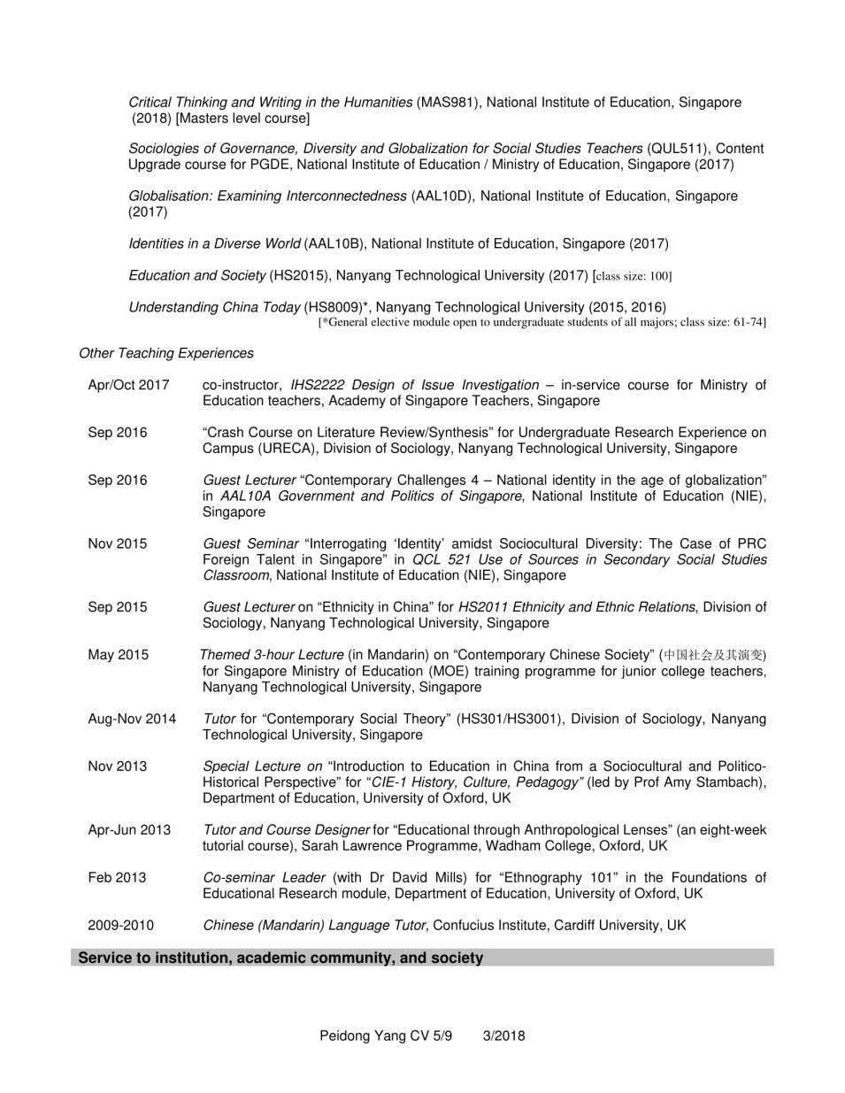 CV YANG Peidong_3.2018-5
