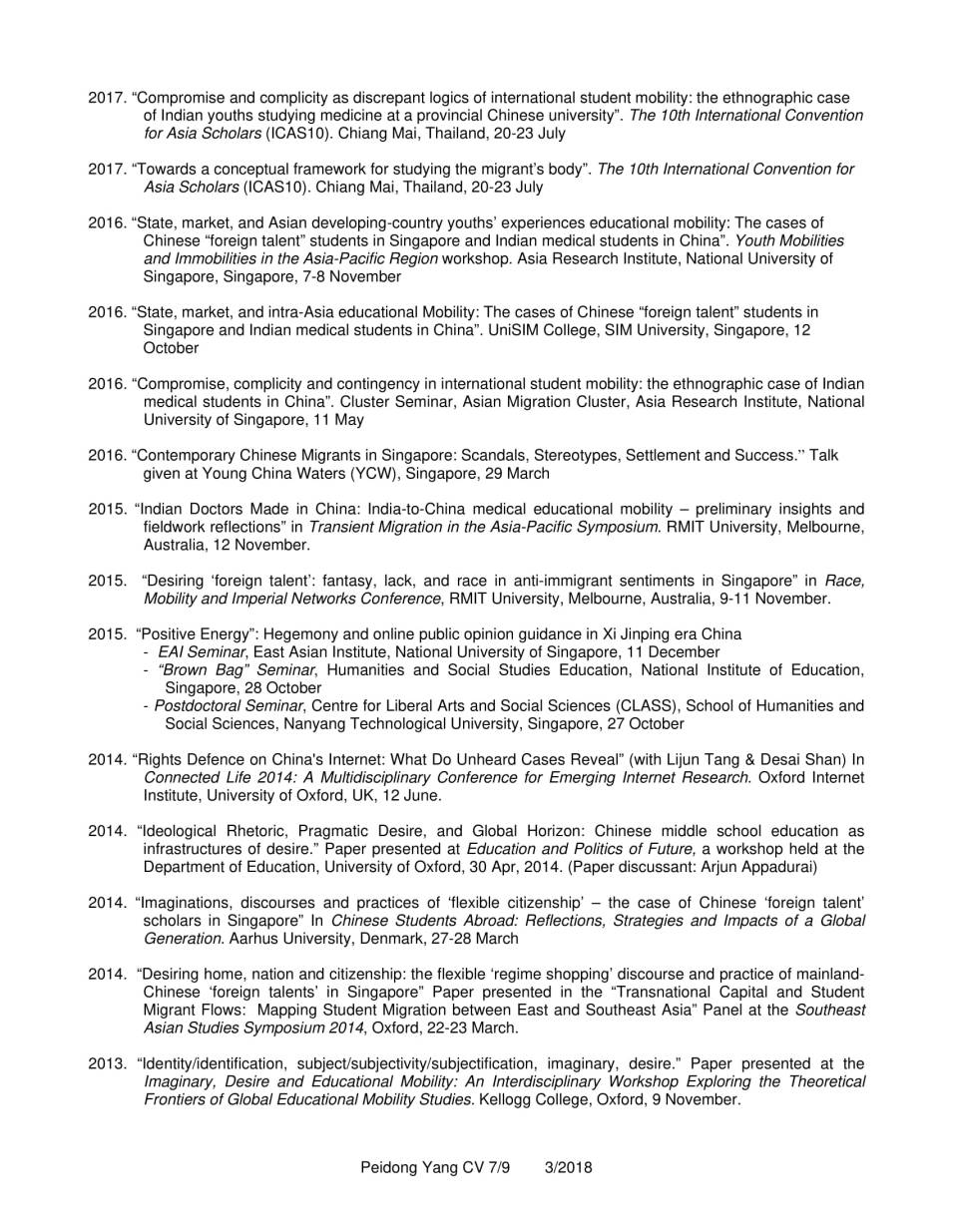 CV YANG Peidong_3.2018-7