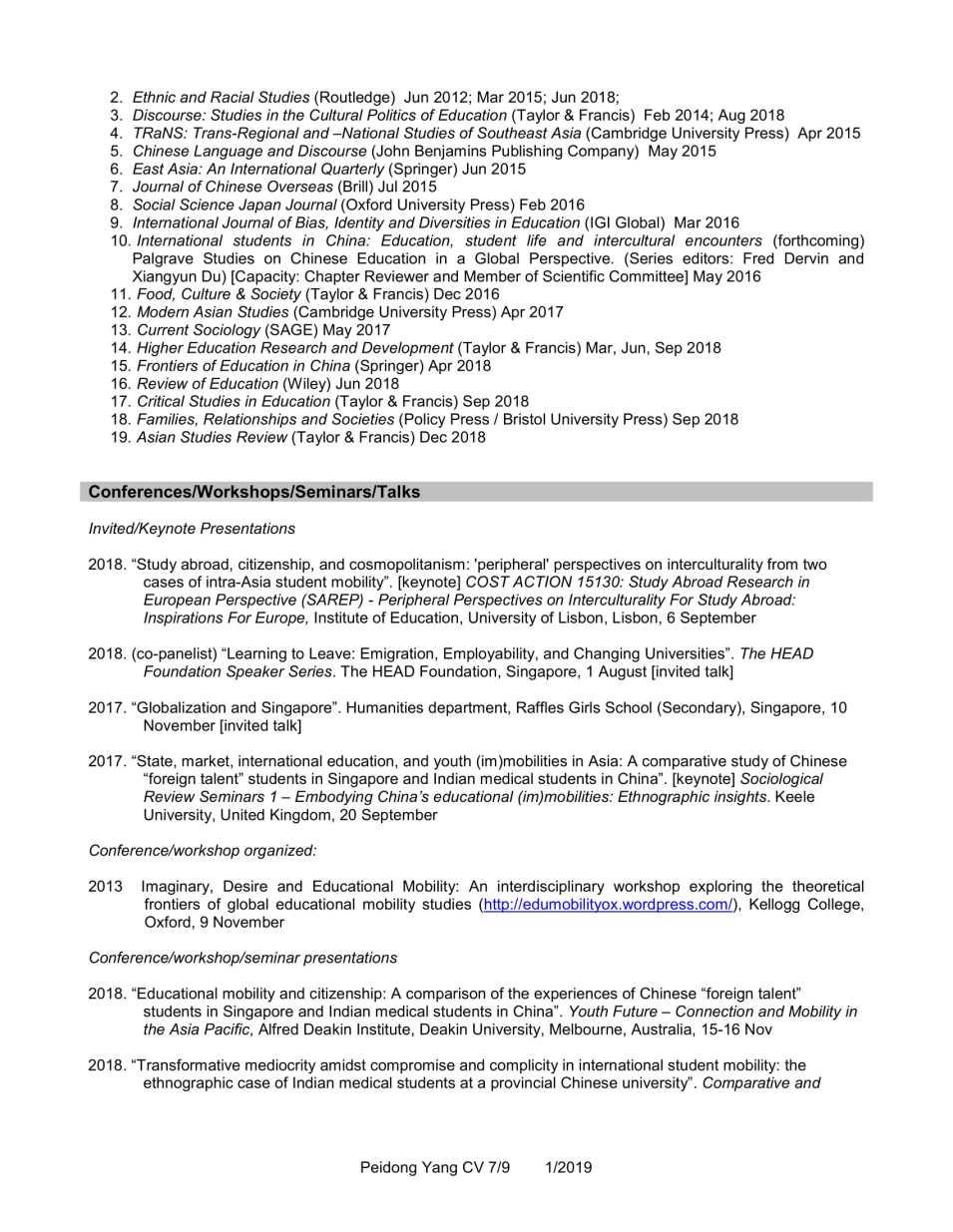 CV YANG Peidong_1.2019-7